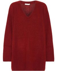 The Row - Sabrinah Cashmere And Silk Sweater - Lyst