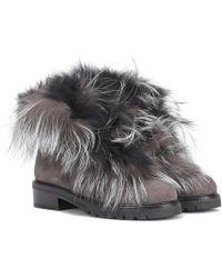 Stuart Weitzman - Befoxy Londra Suede Ankle Boots - Lyst
