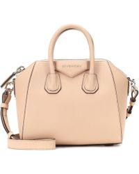 ab3d757c28da Givenchy - Antigona Mini Leather Shoulder Bag - Lyst