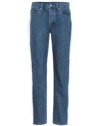 Calvin Klein - Jeans a vita alta - Lyst