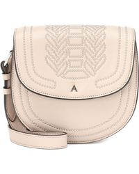 Altuzarra - Ghianda Saddle Leather Shoulder Bag - Lyst