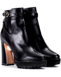 Nicholas Kirkwood - Embellished Leather Ankle Boots - Lyst