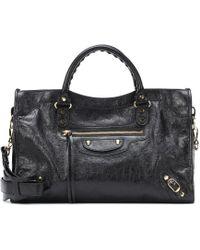 1100c66969 Balenciaga - Classic City M Leather Tote - Lyst
