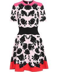 Alexander McQueen - Jacquard Dress - Lyst