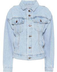 RE/DONE - X Levi's® Denim Jacket - Lyst