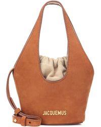 Jacquemus - Le Cariño Suede Bucket Bag - Lyst