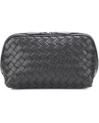 Bottega Veneta - Intrecciato Leather Cosmetics Case - Lyst