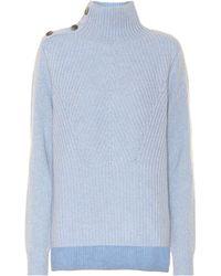 Veronica Beard - Rama Wool And Cashmere Sweater - Lyst