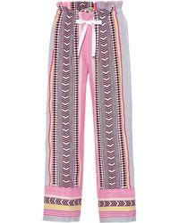 lemlem - Luchia Cotton-blend Pants - Lyst