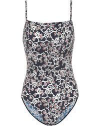 Étoile Isabel Marant - Sidony Printed One-piece Swimsuit - Lyst