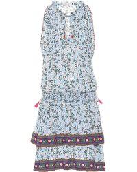 Poupette - Amora Printed Dress - Lyst