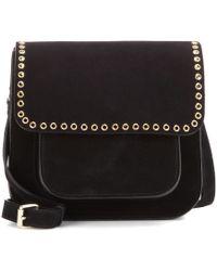 Étoile Isabel Marant - Mela Embellished Suede Cross-body Bag - Lyst