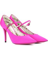 Gucci - Mary Jane Court Shoes - Lyst