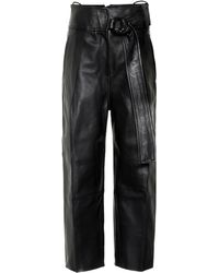Petar Petrov - Haena High-rise Leather Pants - Lyst