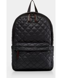 MZ Wallace - Quilted Black Small Metro Backpack - Lyst