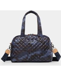 MZ Wallace - Quilted Dark Blue Camo Jj - Lyst