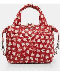 MZ Wallace - Sweetheart Print Small Sutton - Lyst