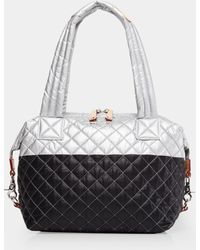 MZ Wallace - Quilted Tin/black Medium Sutton - Lyst