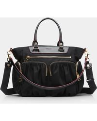 MZ Wallace - Black Small Abbey Tote - Lyst