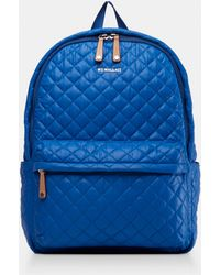 MZ Wallace - Quilted Tahiti Blue Metro Backpack - Lyst