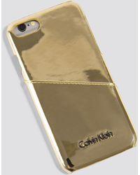 Calvin Klein - Frame Iphone 7/8 Metallic Cover - Lyst