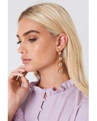 NA-KD - Hanging Pearls Earrings - Lyst