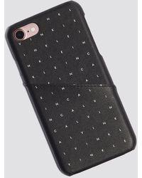 Calvin Klein - Grid Iphone Case - Lyst
