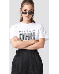 Gestuz - Ohh White T-shirt - Womens Xs - Lyst