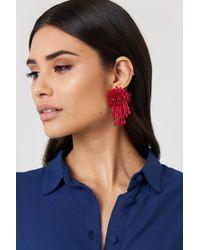 Trendyol - Coral Pearl Earrings - Lyst