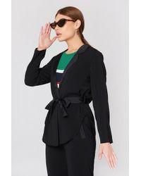 Saint Tropez - Slouchy Blazer Jacket - Lyst