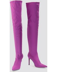 NA-KD - Tight Over Knee Boot - Lyst