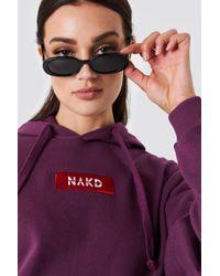 NA-KD - Logo Hoodie - Lyst
