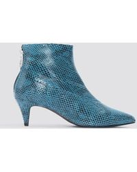 Gestuz - Sheba Snake Boots - Lyst