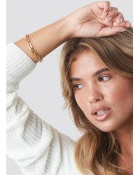 NA-KD - Chain Bracelet Gold - Lyst