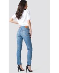 Levi's - 501 Skinny Jeans Blue - Lyst