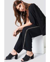 NA-KD - Embellished Side Stripe Pants - Lyst