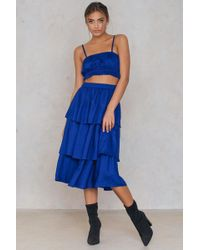 NA-KD - Triple Layer Skirt - Lyst