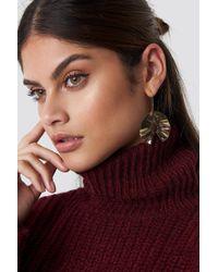Mango - Oslo Earrings Gold - Lyst
