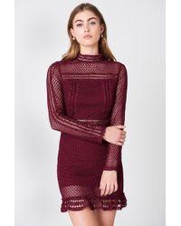 Lioness | Tiffany Lace Dress | Lyst
