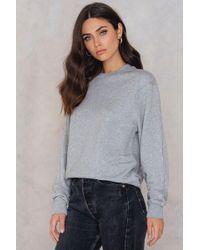 Filippa K - Drapey Sweatshirt - Lyst