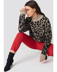 NA-KD - Oversized Leo Sweater - Lyst