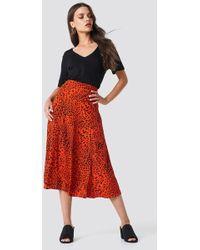 Gestuz - Loui Skirt Red Leopard - Lyst