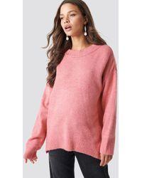 Trendyol - Bike Collar Sweater Pink - Lyst