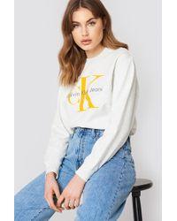 Calvin Klein - Honora True Icon Jumper - Lyst
