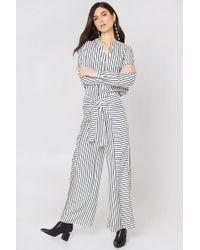 FWSS - Sofie Trousers Sonder Stripes - Lyst