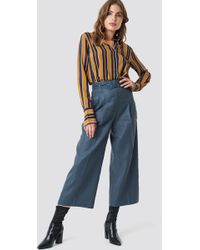 Mango - Linus Trousers Blue - Lyst