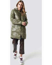 Cheap Monday - Cocoon Jacket Small Echo Khaki Green - Lyst