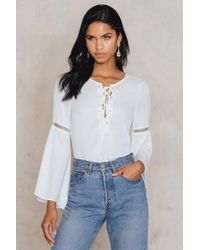 Girls On Film - Hippy Top - Lyst