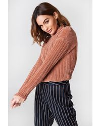 NA-KD - Heavy Knitted Oversize Sweater - Lyst