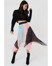 Trendyol - Asymmetric Midi Skirt - Lyst